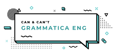 can-can't-grammatica-inglese